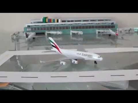 Daron Planes Emirates Airbus A380-800 unboxing