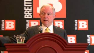 Jeff Sessions -vs- Jeb Bush on Immigration at Exclusive Breitbart Event Free HD Video