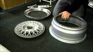 Refinishing 3 Piece Wheels - Assembly (Temp.)