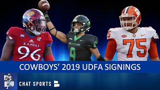 Cowboys UDFA Tracker: Here Are All The UDFAs The Cowboys Signed After The 2019 NFL Draft