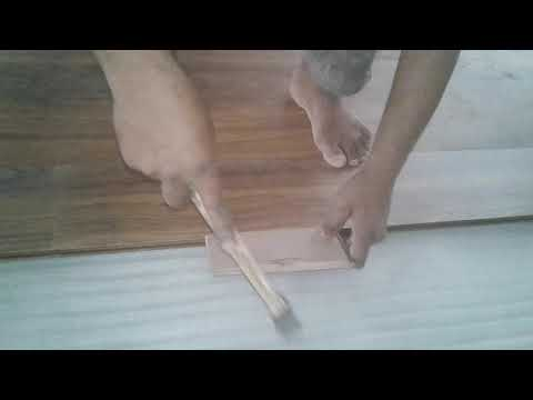 how to install wood look tile step by step