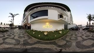 OMEGA House at Rio 2016 - 360° tour