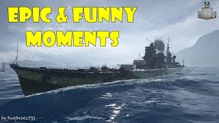 World of Warships - Epic & Funny Moments | Torpedo Magnets