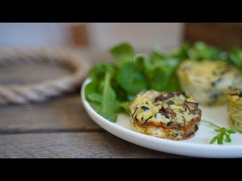 flan-de-courgettes-lÉger-aux-champignons