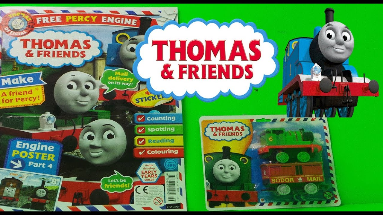 thomas and friends magazine review