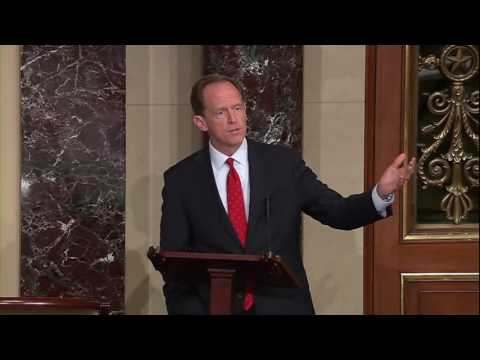 Sen. Toomey Speaks on Keeping Guns from Terrorists