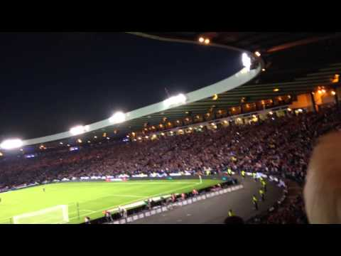Scotland Vs Germany - Loch Lomond - Hampden Park 07/09/15