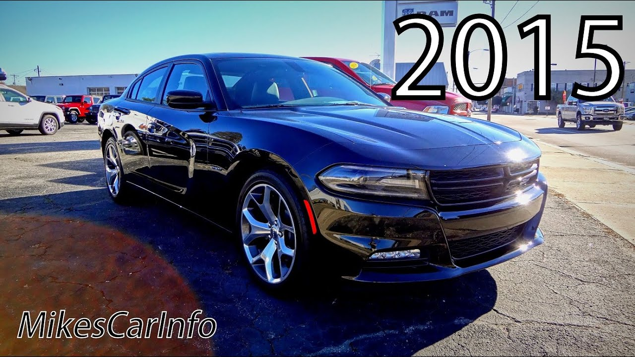 2015 dodge charger r/t - youtube