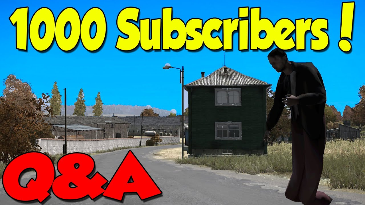 1000 subscribers special thank you all 3of4 9