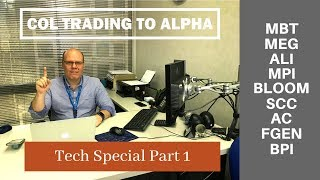 COL Trading to Alpha Tech Special Part 1 (as of Sept. 24, 2018)