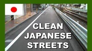 Clean Japanese Streets - Walking in Japan 日本でのクリーンストリート - 日本でのウォーキング