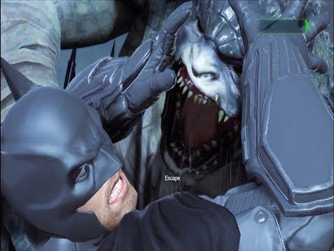 Killer Croc  - BOSS FIGHT - Batman : Arkham Origins |