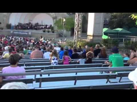 Kids at Music Under the Stars in Toledo
