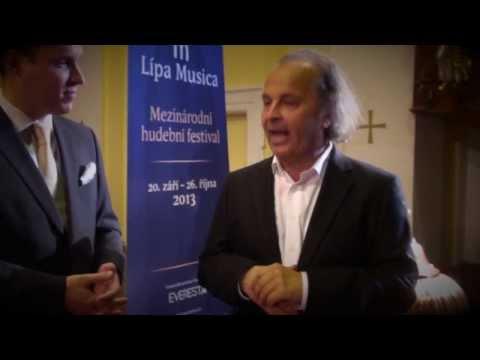 Václav Hudeček - rozhovor pro MHF Lípa Musica 2013