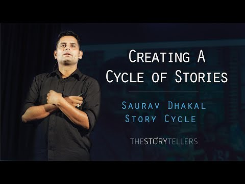 The Storytellers : Creating a Cycle of Stories - Mr. Saurav Dhakal