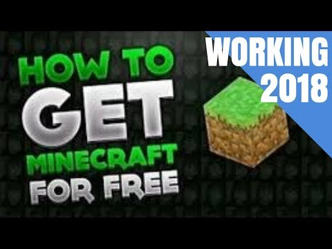 HOW TO GET MINECRAFT FOR FREE 2018 LEGAL MAC/LINUX/WINDOWS MULTIPLAYER 100% WORKING