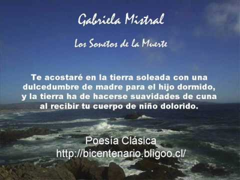 Gabriela Mistral Los Sonetos De La Muerte