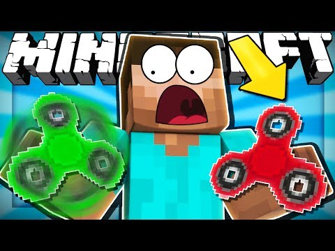 Thumbnail: If FIDGET SPINNERS Were in Minecraft (Weird Comments)