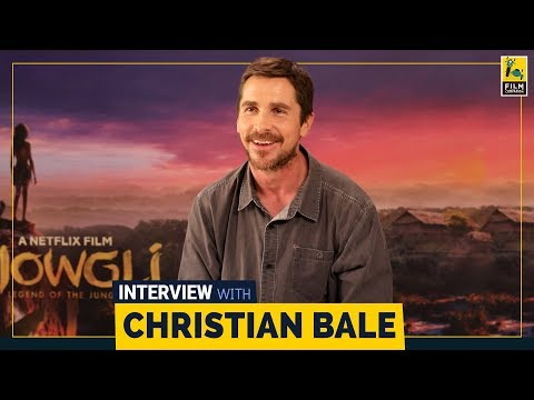 Christian Bale Interview with Sneha Menon Desai | Mowgli | Netflix