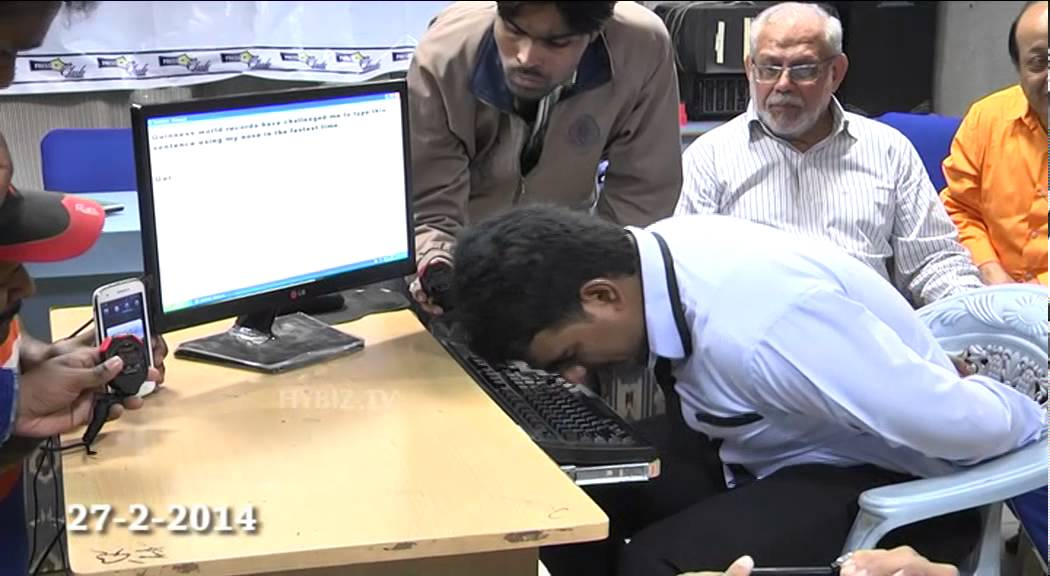 Nose Typist Sets World Record For Speed | HuffPost