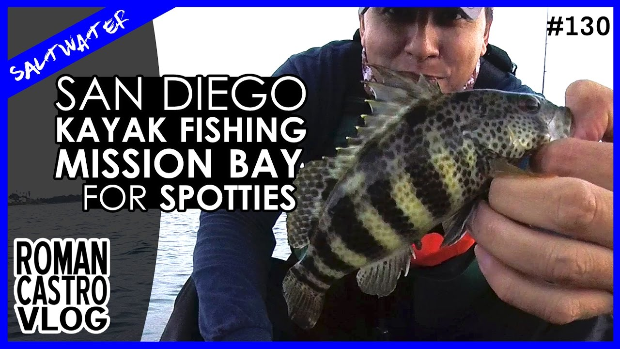 San diego kayak fishing for mission bay spotted bass youtube for Bass fishing san diego