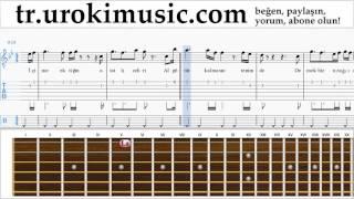 Gitar dersleri Mustafa Sandal - Hepsi Aşktan Bölüm#2 um-723