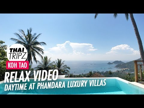 Phandara Luxury Villas - Villa 1 - Daytime View - Koh Tao - 4K
