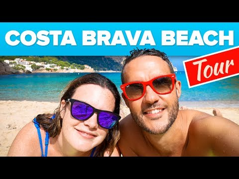 Costa Brava Beach Tour. Travel Guide.