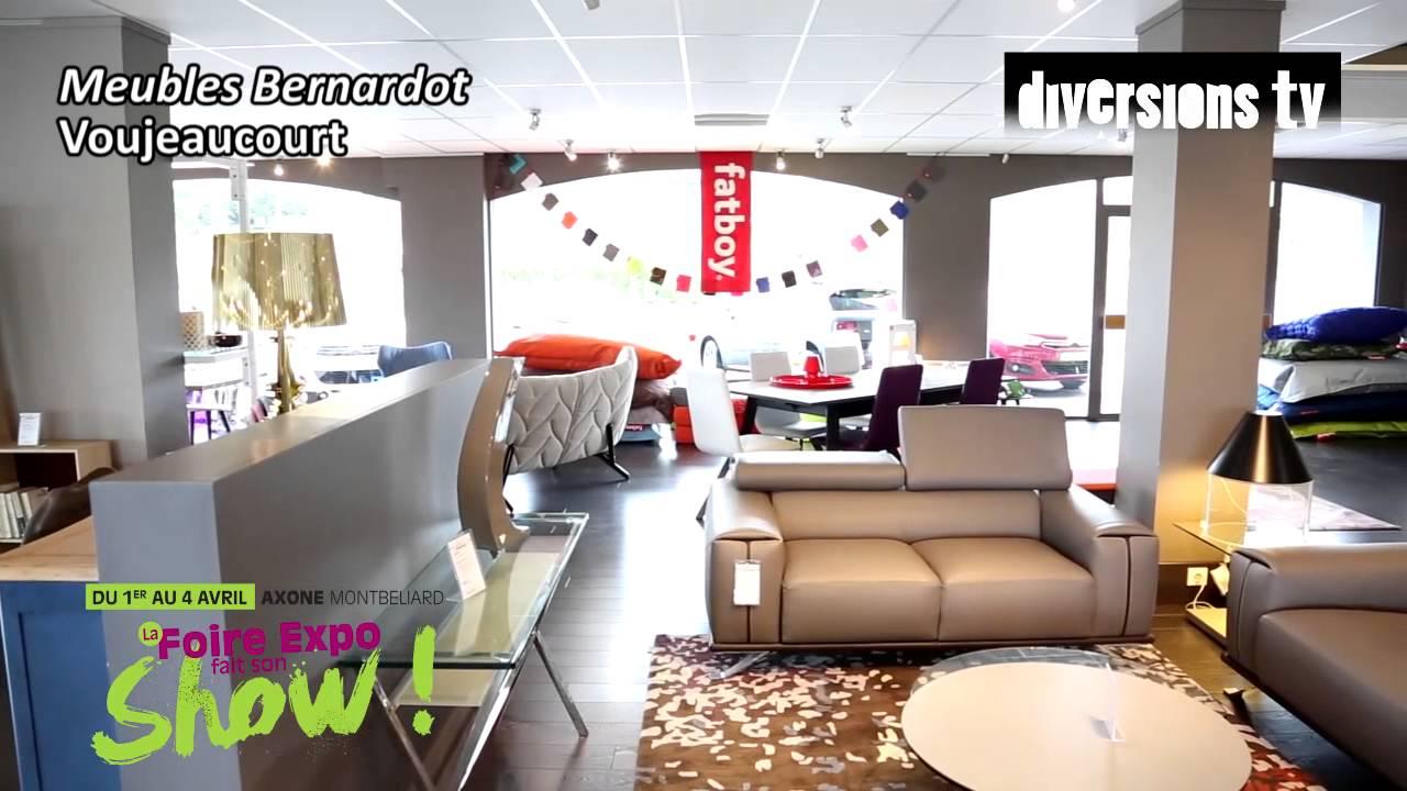 Les meubles bernardot la 3e foire expo de montb liard for Meuble karray