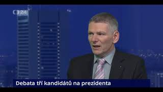 Kulhánek, Hynek A Hannig /názory Tří Kandidátů Na  Prezidenta Čr. Prezidentské Volby 2018