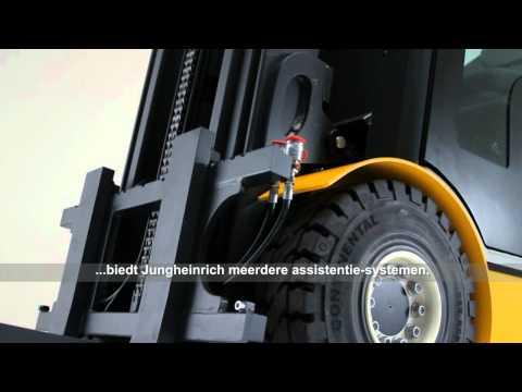 """Pure Energie"". Jungheinrich heftrucks uit de EFG 425-430 serie."