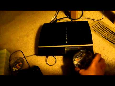 how to open ps3 disc tray