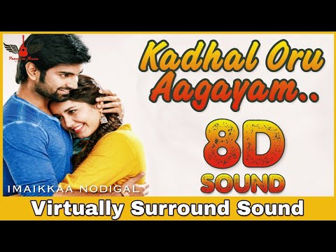 Kadhal Oru Aagayam   8D Audio Song   Imaikkaa Nodigal   Bass Boosted   Tamil 8D Songs