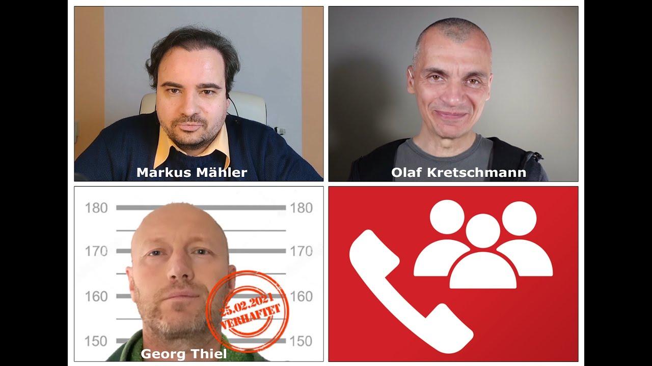 Haft & Rundfunkbeitrag: Georg Thiel spricht zum ersten Mal aus der Zelle