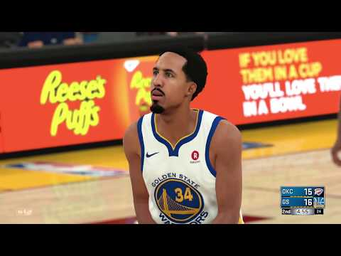 NBA Today Golden State Warriors vs Oklahoma City Thunder | Full Game NBA Highlights (NBA 2K18)