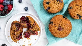 3 Healthy Muffin Recipes | Gluten-Free