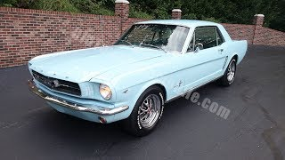 1965 Ford Mustang 4 speed for sale Old Town Automobile in Maryland