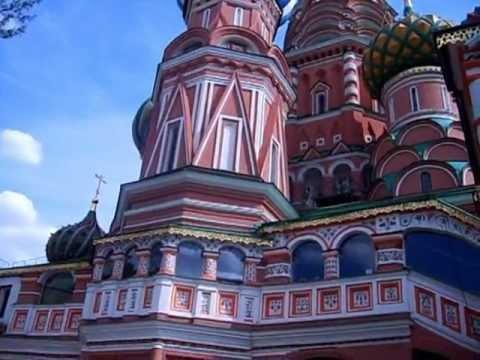 Москва.Покровский собор (Василия Блаженного) - YouTube
