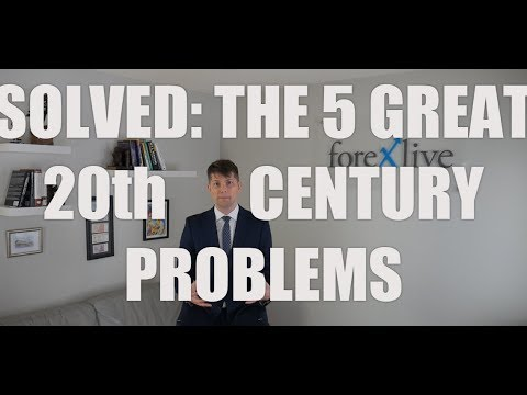 The five big 20th century problems are solved