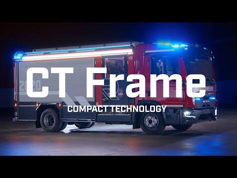 Klein, aber oho: Der CT Frame