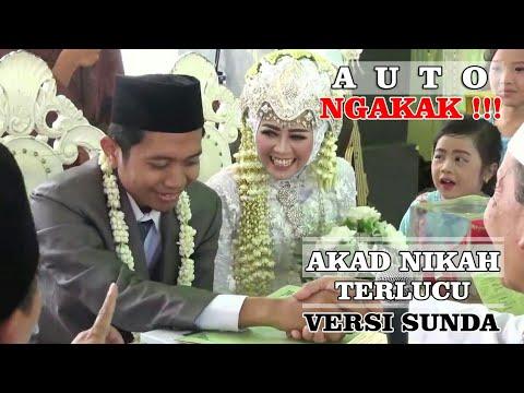 Download Moment Akad Nikah Terlucu ( Versi Sunda )