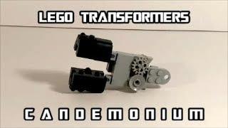 Lego Transformer Can Opener Candemonium By BX Brix