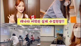 [캐나다 어학연수] 어학원 첫 날부터~레벨테스트까지 3개월간의 수업과 일상 보여드릴게요