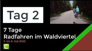 Waldviertel Radfahren 2020-07 Tag2: Gmünd, Litschau, ...