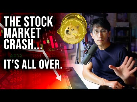 The Stock Market CRASHED... IT'S ALL OVER. (Dogecoin YOLO, as a millionaire)