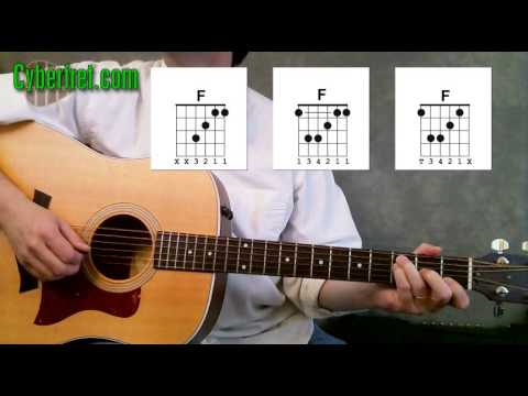 Must Know Rock F Chord | Learnsguitar.com