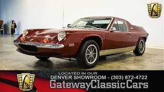 1974 Lotus Europa #398 Denver - Gateway Classic Cars