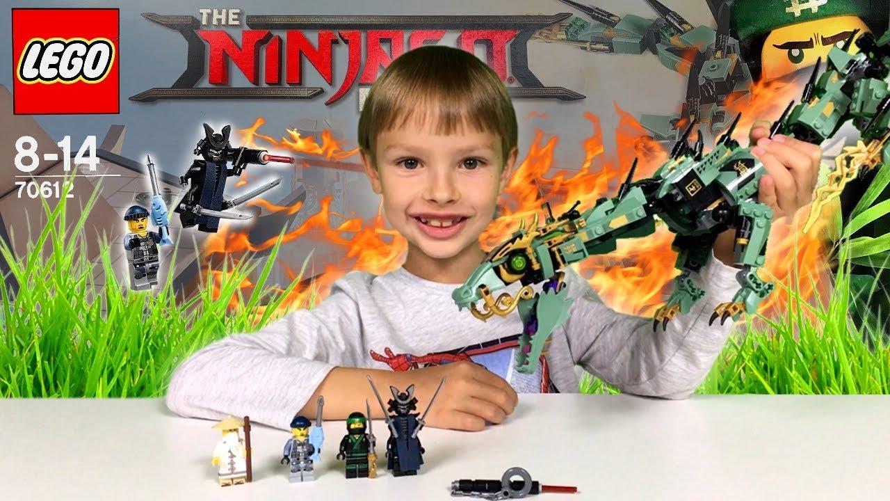 Mechaniczny Smok Zielonego Ninja Recenzja Lego Ninjago Movie 70612