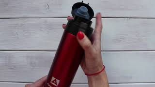 Обзор термокружки Арктика 705-500 цвет Красный