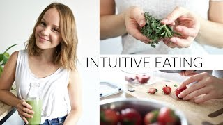 INTUITIVE EATING | 5 tips for happy, healthy, guilt-free eating